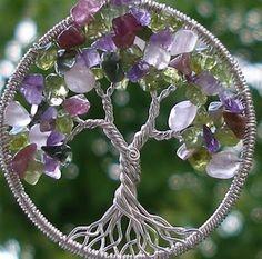 TMVbijoux: Como fazer árvore da vida com arame e miçangas