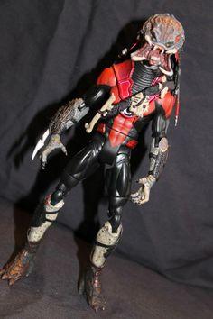 Red Lantern Predator Custom Action Figure DC Universe