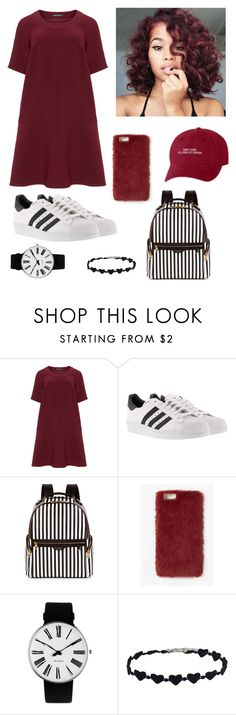 """Untitled #601"" by tumblr-outfits12 on Polyvore featuring Manon Baptiste, adidas, Henri Bendel, Missguided and Rosendahl"