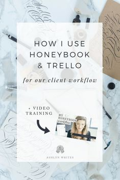 Want to know how to use Honeybook and Trello for your client workflow? Read this post from Ashlyn Writes on how to incorporate these amazing platforms into your business Creative Business, Business Tips, Online Business, Business Software, Business Planning, Time Management Tips, Business Management, Project Management, Business Entrepreneur
