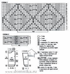 Свитер рубан описание и схема для вязания