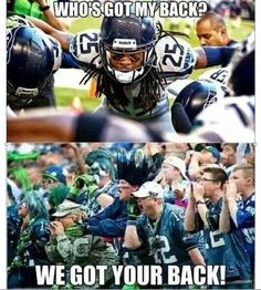 #12th man, 12th Fan, Twelves .... whatever you call us, WE LOVE OUR SEAHAWKS!