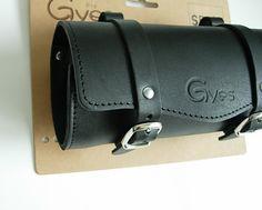 Gyes SB-05 Bicycle Leather Seat tool bag brown