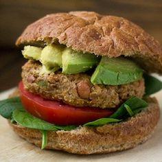 Make sure you enjoy this AFTER a workout. [Athlete Eats] Quinoa Veggie Burger HealthyAperture.com