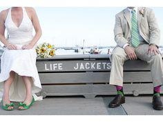 I love a beach wedding!