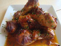 Pilons de poulet à l'africaine