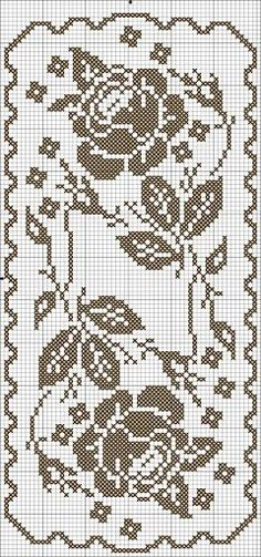 Crochet Cross, Crochet Lace, Vintage Crochet, Thread Crochet, Cute Crochet, Crochet Chart, Beautiful Crochet, Filet Crochet, Crochet Doilies