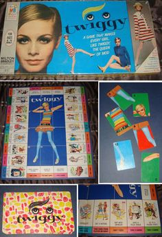 Milton Bradley Board Game, 1967 | 10 Unexpected Products By Twiggy