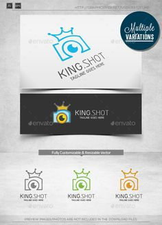 King Image  Logo Template — Vector EPS #app #corporate • Available here → https://graphicriver.net/item/king-image-logo-template/10018550?ref=pxcr