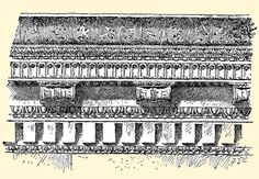 Cornice of the Temple of Concord