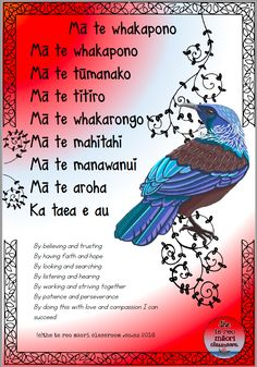 """The question I hear most often is """"How can I incorporate more te reo into my classroom when I'm still learning myself?"""" It is a question I love! I have discussed games and activities, waiata School Resources, Teaching Resources, Teaching Ideas, Maori Songs, Striving Together, Waitangi Day, Maori Symbols, Maori Designs, Nz Art"""