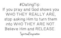 Not only a dating tip, but a tip for friends as well