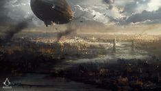 Assassin's Creed: Syndicate, Darek Zabrocki on ArtStation at https://www.artstation.com/artwork/agGK9