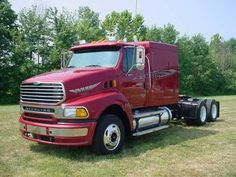 Sterling AT9522 Sterling Trucks, Steyr, Ford Trucks, Rigs, Tractors, Usa, American, Vehicles, Trucks