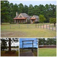 Enjoy a self-sustaining lifestyle on this immaculate 148± acre #ranch that also offers all the comforts of fine living! Located in East Texas, this ranch offers a gently rolling terrain with coastal hay meadows dotted with mature oak trees, and is ideal for running a small herd of cattle, hunting, and farming. There is also a five acre lake plus numerous natural springs around the property. Improvements include a 3,355 sq ft Southern Living-designed executive home.