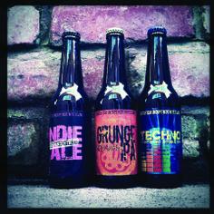 Indie Ale, Grunge Ipa e Techno Double Ipa