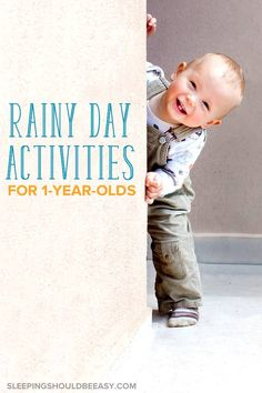 This list of rainy day activities for 1 year olds is the best thing to have when bad weather hits! These indoor activities will keep you both happy and sane. Both boy and girl toddlers will have a blast — no more cabin fever! Activities For One Year Olds, Rainy Day Activities, Indoor Activities, Infant Activities, 1 Year Old Costumes, Halloween Costume 1 Year Old, 1 Year Old Girl, 2 Year Olds, Thing 1
