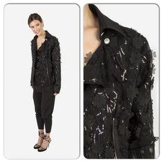 Silk lace motorcycle jacket