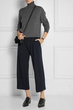1205 Coast wool-piqué culottes NET-A-PORTER.COM