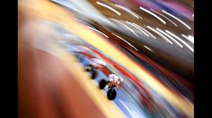 : Image was created using a variable planed lens.) The Colombia Men's Pursuit team warm-up on Day 6 of the London 2012 Olympic Games at Velodrome on August 2, 2012 in London, England. (Photo by Cameron Spencer/Getty Images)