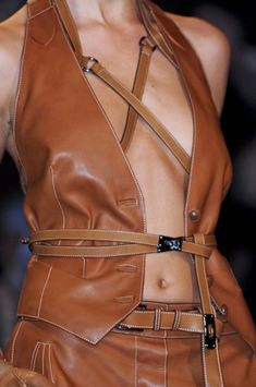 Hermès Spring 2011 - Details | In Brown is cool but if it was in Black: that is hot!