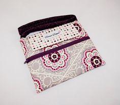 Purple Dotty Flowers - Kids Tablet Case - Leappad 1 & 2 or Ultra / Meep / Nabi Jr. or Nabi 2