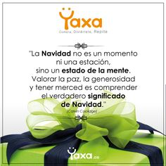 Vive el placer de comprar en Yaxa.co Shopping, Peace