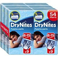Huggies DryNites Pyjama Pants for Boys Age 8-15 54 Total
