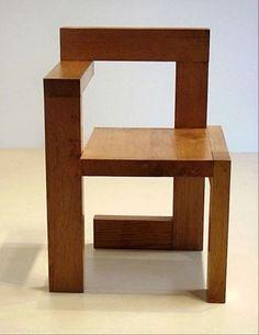 Steltman Chair, Gerrit Rietveld, 1963