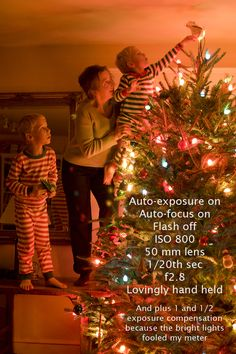Christmas photo tips.