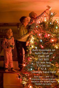 Christmas photo tips.