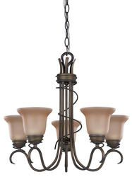 Sophia Oil Rubbed Bronze Chandelier At Menards