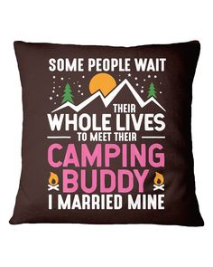 Camping Buddy Married Mine Tee Men Husband Wife - Chocolate cricut camping, photo gifts, tactical gifts #dishscrubber #airstreamrenovation #airstreamlife, dried orange slices, yule decorations, scandinavian christmas Camping Needs, Camping With Kids, Family Camping, Camping Gifts, Diy Camping, Camping Gear, Yule Decorations, Camping Decorations, Camping Humor