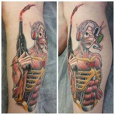 iron maiden tattoos - Google Search