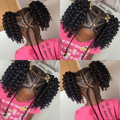 - Nail Effect - Hairstyles boys (notitle) - Little Girls Natural Hairstyles, Lil Girl Hairstyles, Black Kids Hairstyles, Black Girl Braided Hairstyles, Princess Hairstyles, Little Girl Braids, Braids For Kids, Kids Crochet Hairstyles, Braid Styles For Girls