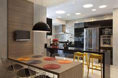 Projeto de decoração de apartamento no Península, RJ
