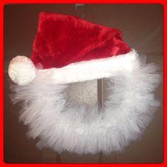 Santa's Merry Christmas Wreath