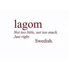 'Lagom': The Scandi Trend Taking Over 'Hygge' In 2017