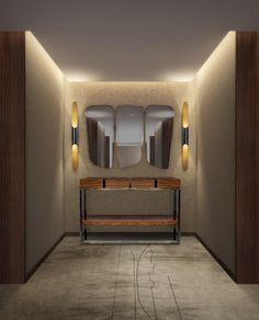 Up to 3 iron tubes, Coltrane makes a magical and a smooth lighting effect for architectural environments