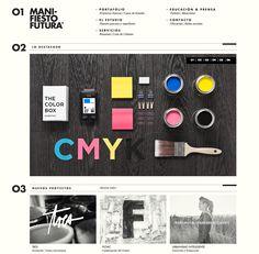 Manifiesto Futura Website Design