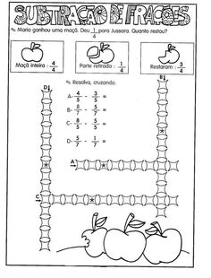 91 best fração images on pinterest learning math activities and 5