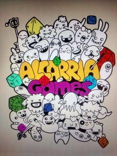 #COMUNITARIO #JUEGOS #ROL #WARGAME #CROWDFUNDING - Póster de Alcarriagames. Las primeras jornadas de ocio alternativo en la ciudad de Guadalajara. Crowdfunding Verkami: http://www.verkami.com/projects/13551