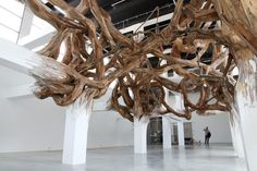 The Root Installations of Henrique Oliveira /sornmagazine.com