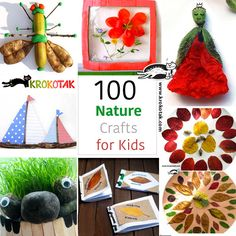 Nature crafts for kids teaching life skills, teaching art, daycare crafts, Spring Activities, Activities For Kids, Crafts For Kids To Make, Art For Kids, Daycare Crafts, Bible For Kids, Camping Crafts, Outdoor Art, Valentines For Kids