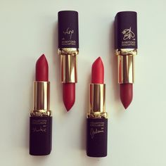 "L'oreal Paris, collection exclusive pure reds. In <3 with ""Blake's pure red"" shade!"