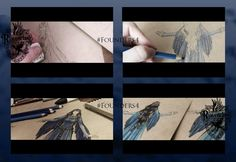 Founders4: Making Of Rowena Ravenclaw by Aquamirral on DeviantArt