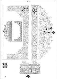 Три открытки в технике парчмент-крафт из журнала Pergamano