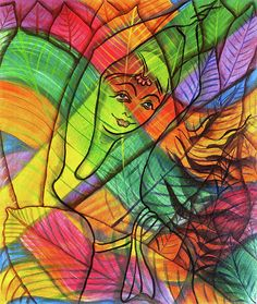The Dancing Rainbow Girl by Asp Arts Art Prints, Dance Paintings, Metal Art, Comic Art, Metal Prints, Girl Drawing, Drawings, Painting, Art