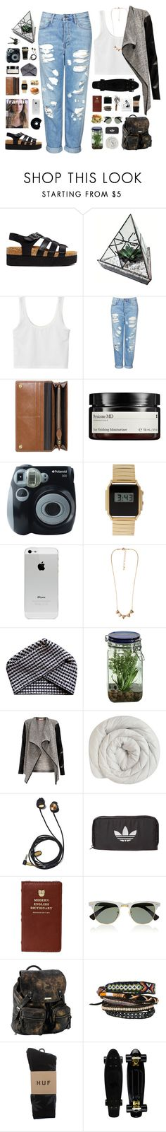 """""""Mrs. High"""" by shaniaayr ❤ liked on Polyvore featuring Truffle, Topshop, CHESTERFIELD, Mulberry, Perricone MD, Polaroid, ASOS, Forever 21, Electronic Sheep and Alöe"""