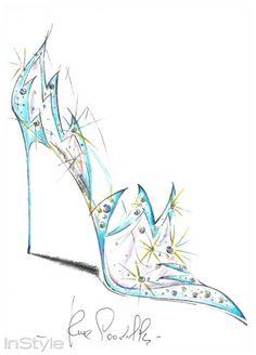Cinderella`nın Yeni Tasarım Ayakkabıları